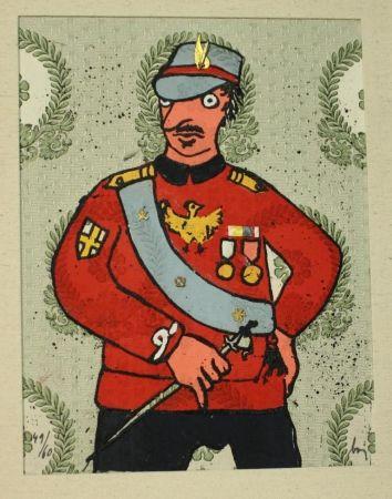 Офорт Baj - Generale