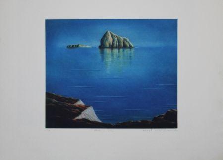 Офорт И Аквитанта Maibaum - Genesis:  Insel