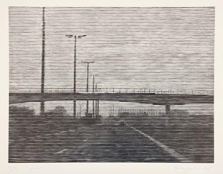 Гравюра На Дереве Baumgartner - Gent