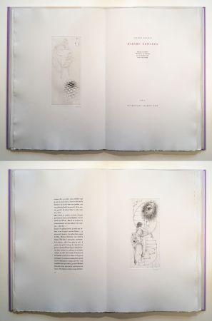 Иллюстрированная Книга Bellmer - Georges Bataille : Madame Edwarda. 12 gravures originales signées (1965).