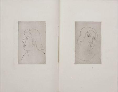 Иллюстрированная Книга Derain - Georges Gabory : LA CASSETTE DE PLOMB. Deux gravures originales et inédites par André Derain (1920)