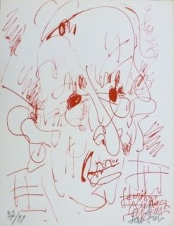 Литография Paul  - Georges Lukacz