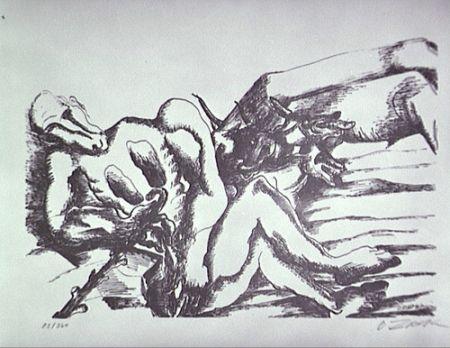 Литография Zadkine - Gerion (a)