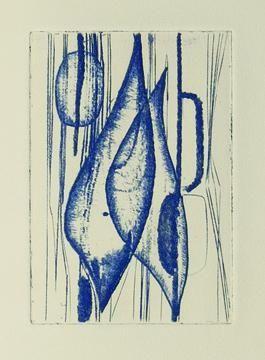 Иллюстрированная Книга Haass - Germinal.  Poème de Michel Ferrand. Gravures de Terry Haass.