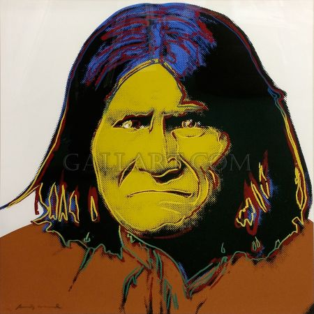 Сериграфия Warhol - GERONIMO FS II.384