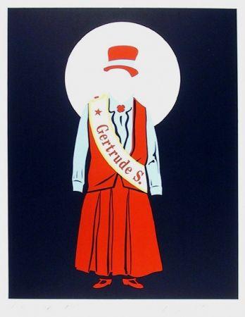 Литография Indiana - Gertrude Stein