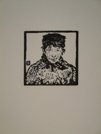 Гравюра На Дереве Giacometti - Giovanin da Vöja