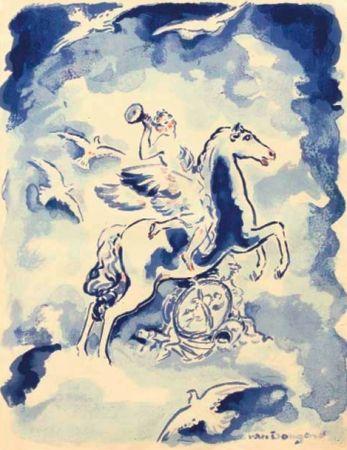 Литография Van Dongen - Gloire a Paris