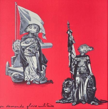 Литография Baj - Gloire Militaire