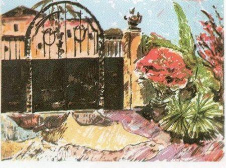 Литография Muñoz - GM - 8