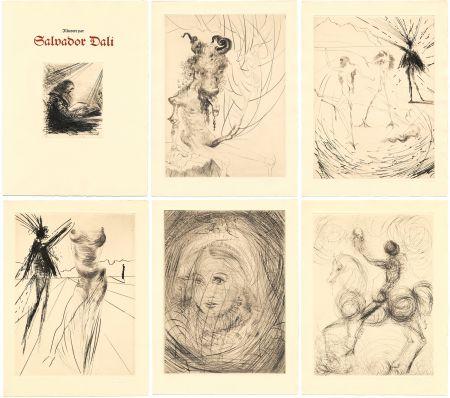 Иллюстрированная Книга Dali - GOETHE : FAUST. 21 gravures originales (1969