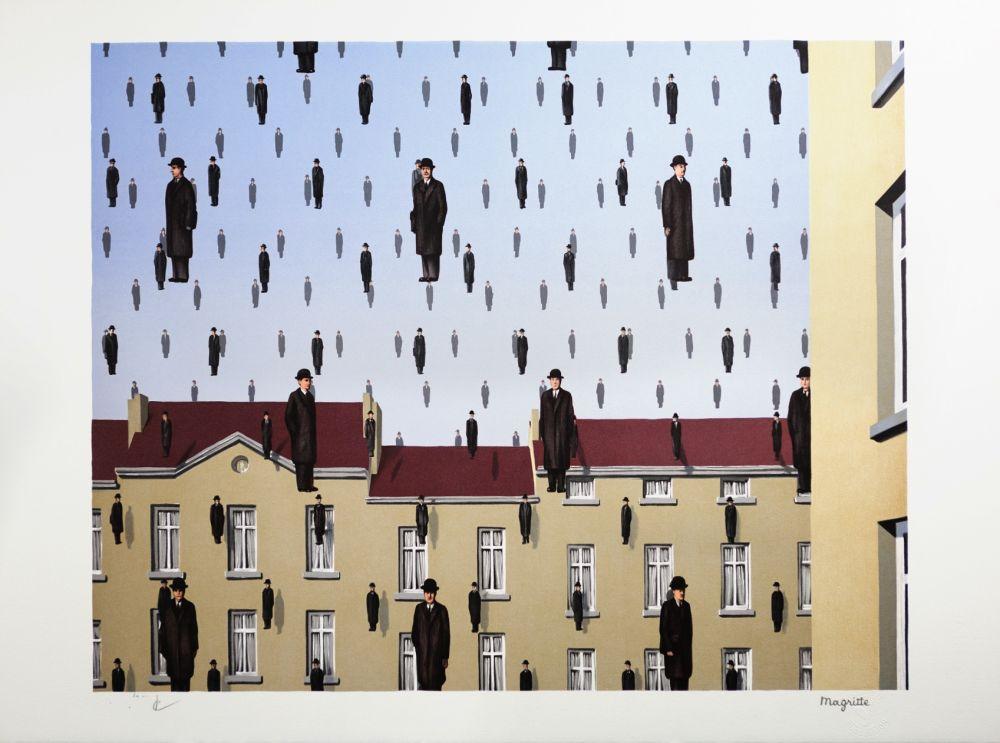 Литография Magritte - Golconde