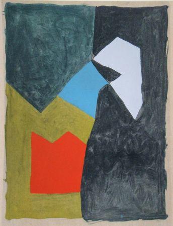 Трафарет Poliakoff - Gouache - 1955