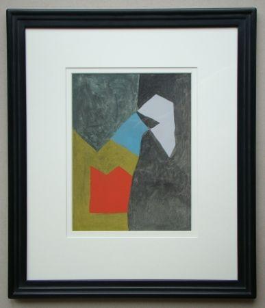 Трафарет Poliakoff - Gouache, 1955