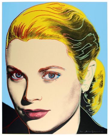 Сериграфия Warhol - Grace Kelly (FS II.305)