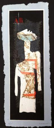 Гравюра Coignard - Grand mannequin debout