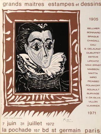 Афиша Picasso - Grands Maîtres Estampes Et Dessins 1905 - 1972 - Galerie La Pochade, 7 Juin - 31 Juillet,1972