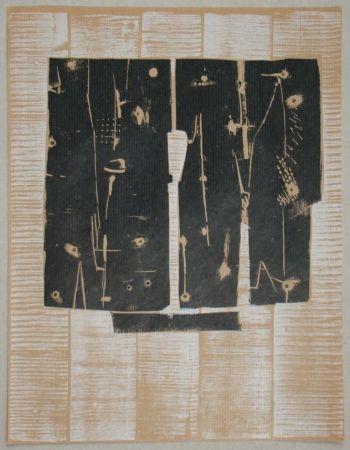 Гравюра На Дереве Consagra - Gravure sur bois pour XXe Siècle