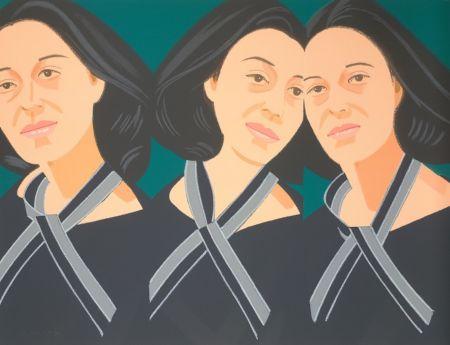 Сериграфия Katz - Gray Ribbon (Alex and Ada Suite)
