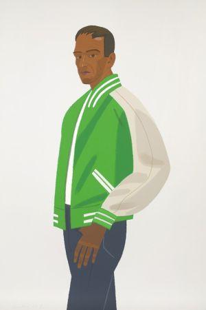 Сериграфия Katz - Green Jacket (Alex and Ada Suite)
