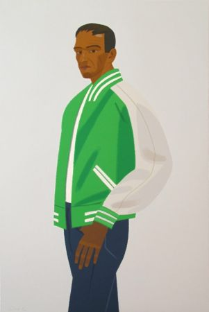 Сериграфия Katz - Green Jacket (from Alex & Ada portfolio)