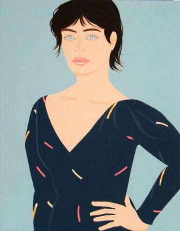 Литография Katz - Grey Dress (Laura) Diane von Furstenberg Dress