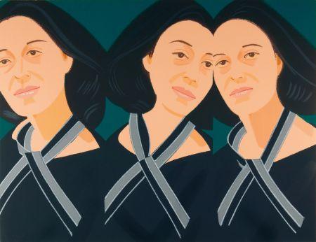 Сериграфия Katz - Grey Ribbon