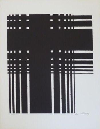 Литография Delaunay - Grille