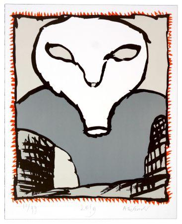 Литография Alechinsky - Griserie à minuit 3