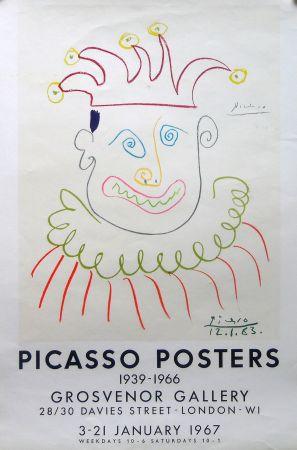 Литография Picasso - Grosvenor Gallery, London 1967 ed.150 !