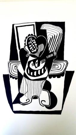 Литография Picasso (After) - Hélène chez Archimède