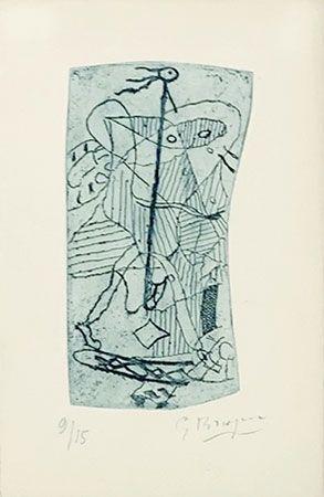 Гравюра Braque - Héraclite d'Ephèse
