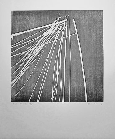 Гравюра На Дереве Hartung - H 1973-21