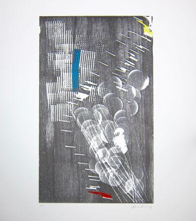 Гравюра На Дереве Hartung - H 1973-3