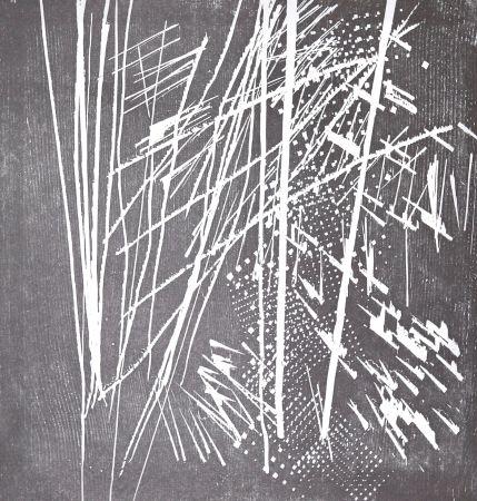 Гравюра На Дереве Hartung - H 1973-9