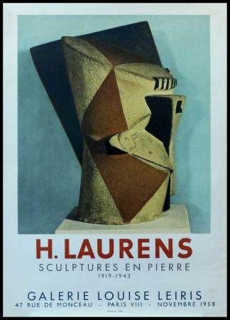 Афиша Laurens - H. LAURENS - GALERIE LOUISE LEIRIS SCULPTURES EN PIERRE