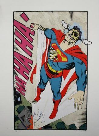 Сериграфия D-Face - Ha, Ha, Ha Not So Superman