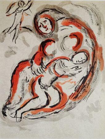 Литография Chagall - Hagar Dans Le Désert