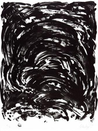 Литография Uecker - Handlung II