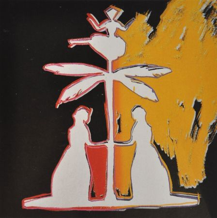 Сериграфия Warhol - Hans Christian Andersen (FS II.399)