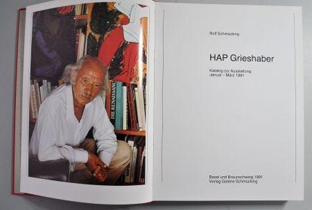 Иллюстрированная Книга Grieshaber - Hap Grieshaber Ausstellungskatalog 1991