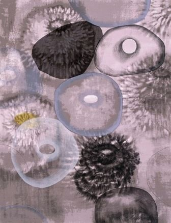Сериграфия Bleckner - Happiness For Instance I