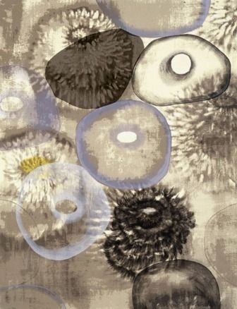 Сериграфия Bleckner - Happiness For Instance III
