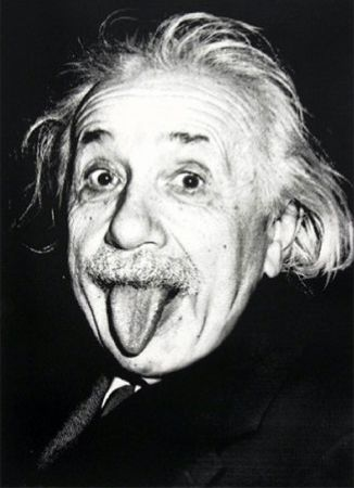 Сериграфия Mr Brainwash - Happy birthday Einstein