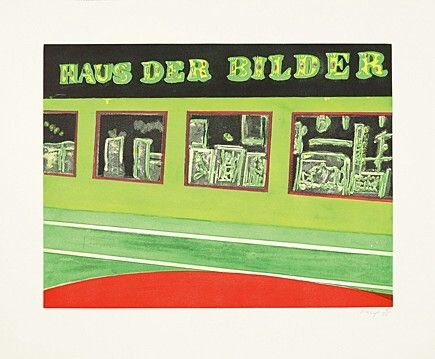 Офорт И Аквитанта Doig - Haus der Bilder, Blatt 4 der Serie