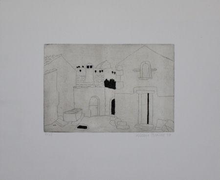 Гравюра Breiter - Hausfassade