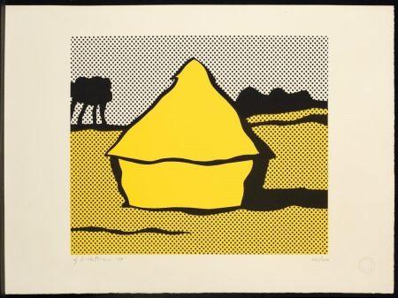 Сериграфия Lichtenstein - Haystack