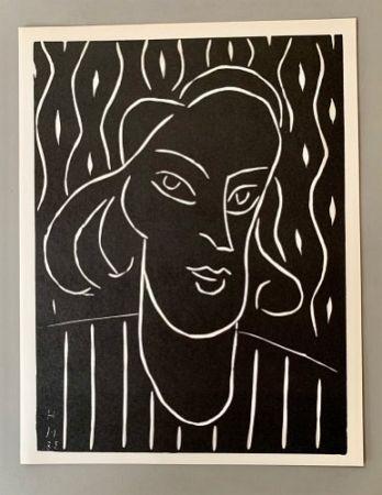 Линогравюра Matisse - Henri Matisse -'Linocut' 'Teeny' 1938