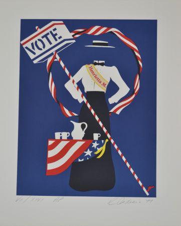 Литография Indiana - Henrietta M. - Mother of us all portfolio