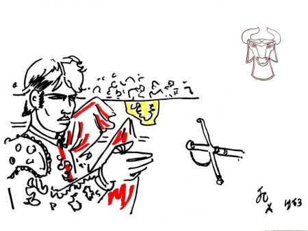 Литография Cocteau - Hero